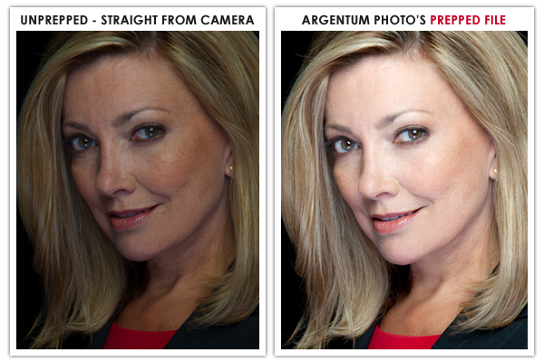 Straight From Camera VS. Argentum Photo's Prepped Image
